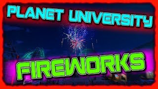 hOW TO CREATE FIREWORK DISPLAYS  Planet University for Planet Coaster