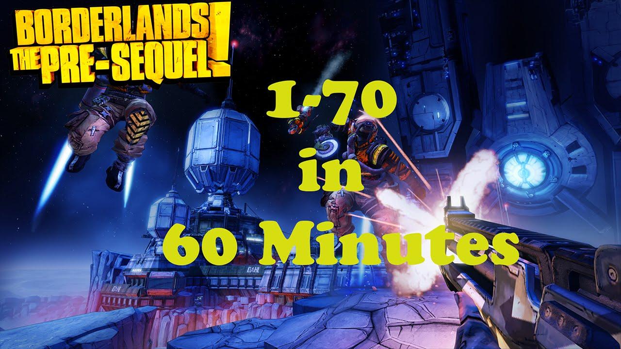 Borderlands Pre-Sequel: Fastest Way to Powerlevel/Level up!