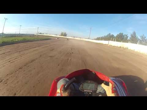 Frozen Ocean Speedway Heat Second Place  Oct-14-2016
