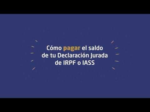 Tutorial Saldo a pagar IRPF (cat II) y IASS