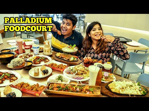 Epic Food Crawl in Chennai - Palladium Food Court
