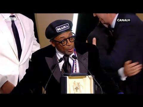 Le Grand Prix du Jury revient à Spike Lee pour Blackkklansman - Cannes 2018