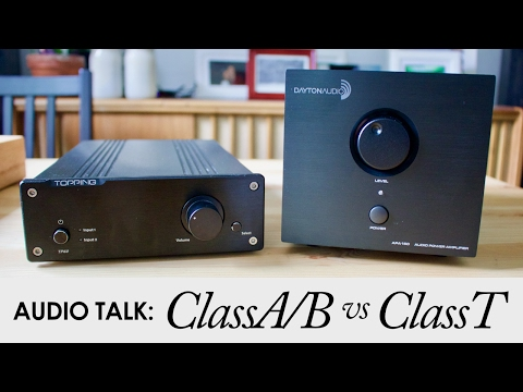 Class-A/B Vs Class-T Audio Amps | Dayton Audio APA150 And Topping TP60 Comparison