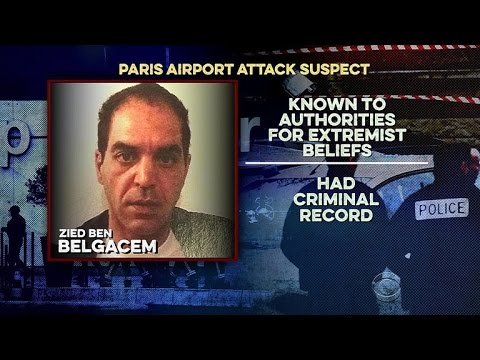 Autopsy performed on alleged Paris airport attacker