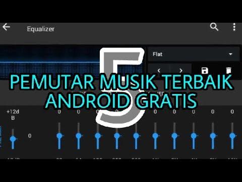 5 Pemutar musik terbaik di Android