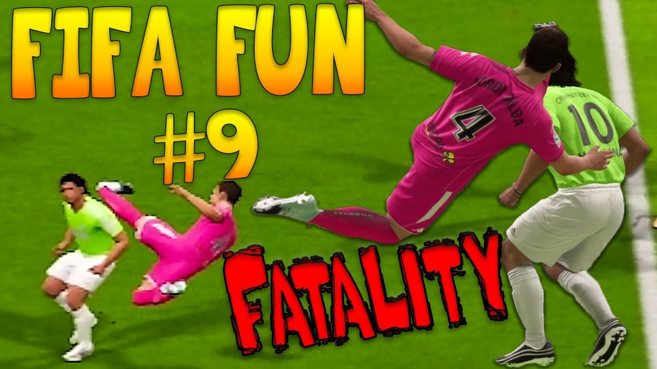 Fifa 18 Funny Fails #9 - WTF is wrong with those Referees?
