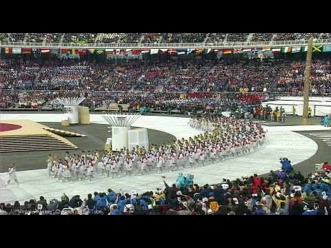 [HD] 1998 Nagano Olympics - Opening Ceremony Part 2/4 - Parade of Nations 長野五輪開会式