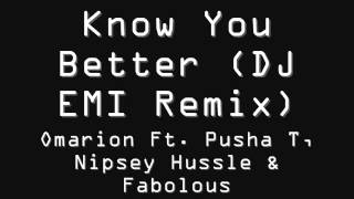 Omarion Ft  Pusha T, Nipsey Hussle & Fabolous -- Know You Better + Download Link