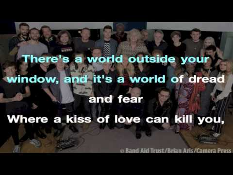 Band Aid 30 - Do They Know It's Christmas 2014 New- Lyrics Video
