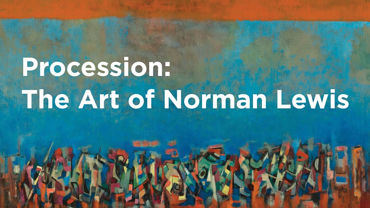 Procession | The Art of Norman Lewis