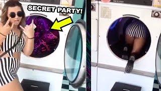 SECRET WASHING MACHINE RAVE