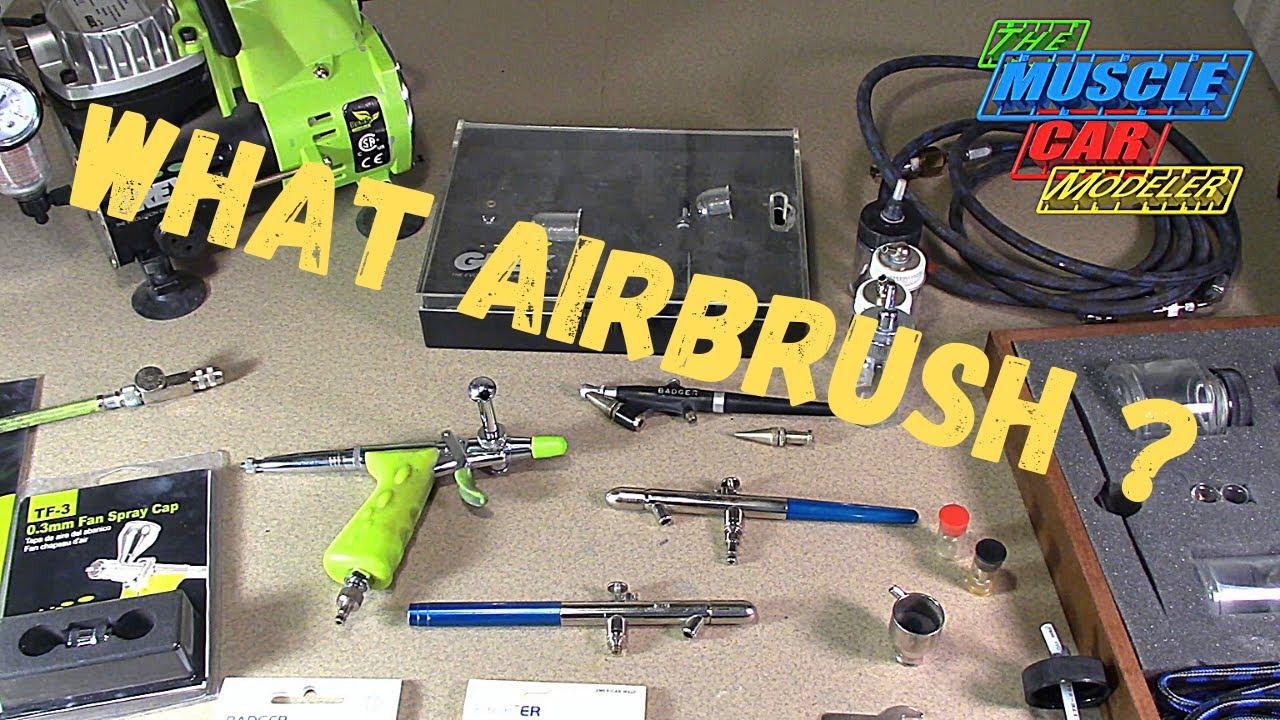 Airbrushses for model cars for beginners
