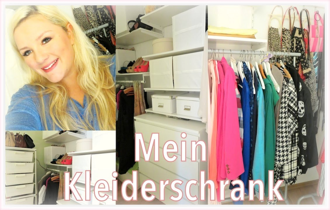 tour durch meinen begehbaren kleiderschrank closet tour. Black Bedroom Furniture Sets. Home Design Ideas