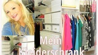 tour durch meinen begehbaren kleiderschrank closet tour