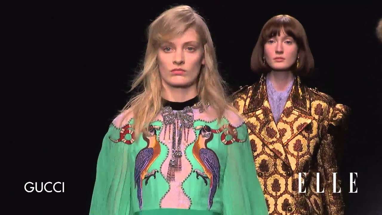 467953f1c Gucci. Milan Fashion Week. Otoño / invierno 2016-2017 - YouTube