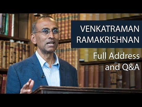Sir Venki Ramakrishnan | Full Address and Q&A | Oxford Union