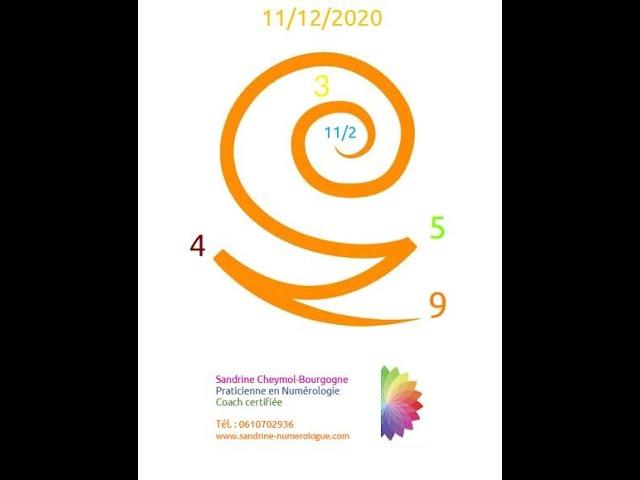 Les énergies du 11/12/2020 en numérologie