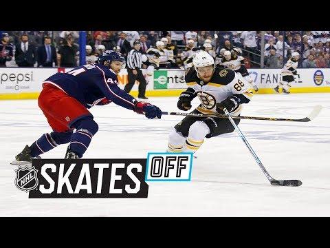 Skates Off: David Pastrnak