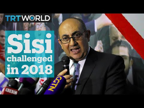 Egyptian human rights lawyer challenges Sisi for presidency