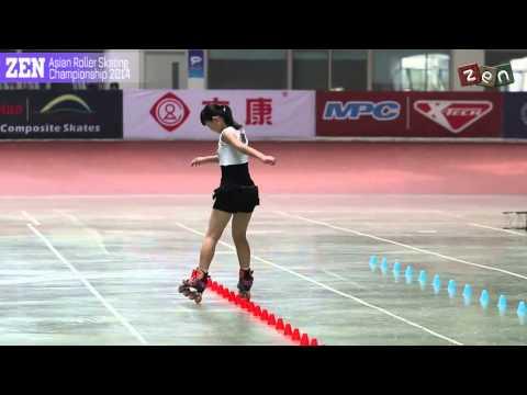 Zhao Yi Ran 赵依然 3rd ║ Asian Roller Skating Championship 2014