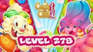 Candy Crush Jelly Saga Level 278