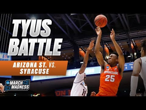 Tyus Battle helps Syracuse to First Four win against Arizona State