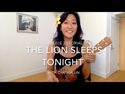 Lion Sleeps Tonight  Ukulele Chucking Strum Tutorial