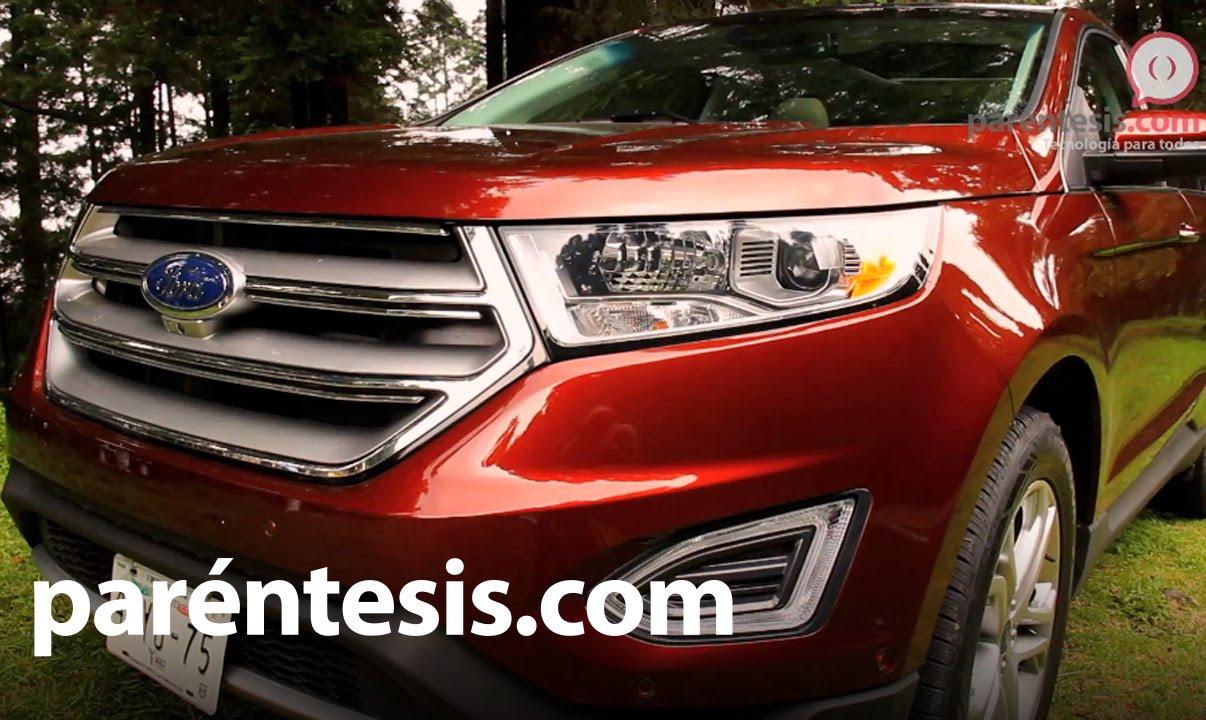 Nueva ford edge 2015 review en espa ol