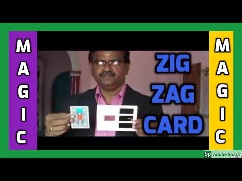 🔔MAGIC VIDEO TAMIL I💥MAGIC TRICK TAMIL #500 I ZIG ZAG CARD