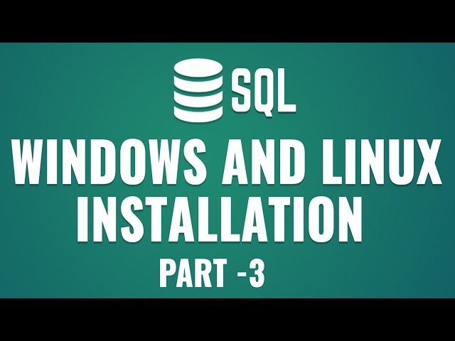 Learn Database Design with MySQL |Getting Started With MySQL | Windows & Linux Installation | Part 3
