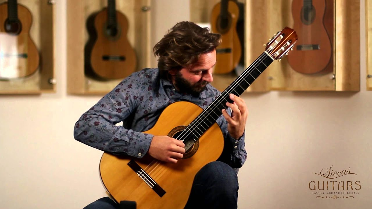 Marcin Dylla plays la Alborada by Francisco Tárrega on a 1964 Manuel de la Chica