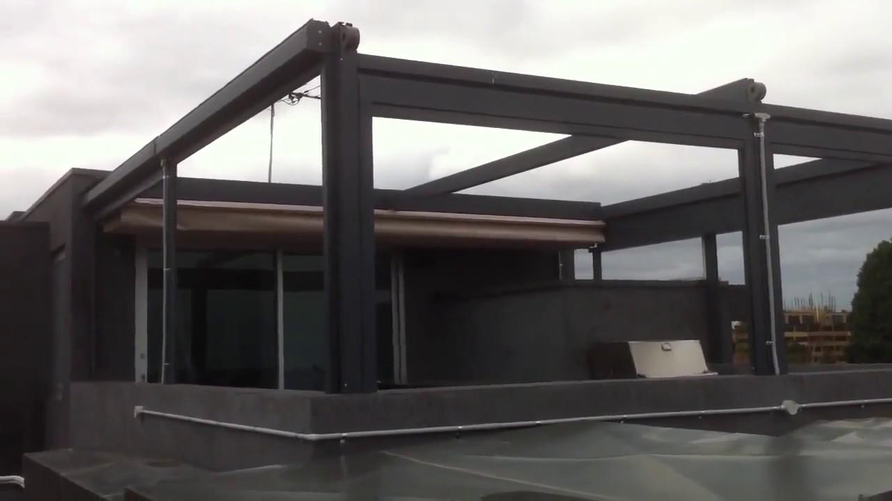 Pergola Tente, Pergole Tente Sistemleri, Pergola Tente Montajı , Tenteci, - YouTube