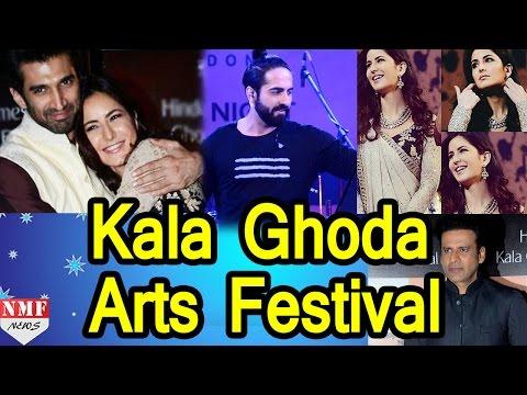 Bollywod Stars At Closing ceremony of Kala Ghoda Arts Festival 2016