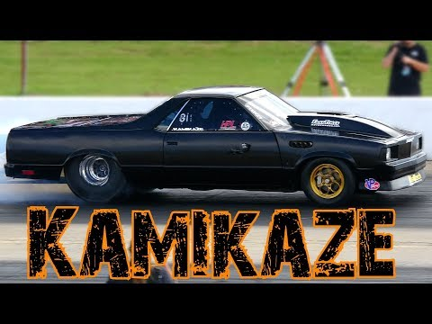 Street Outlaws Kamikaze El Camino Drag Racing