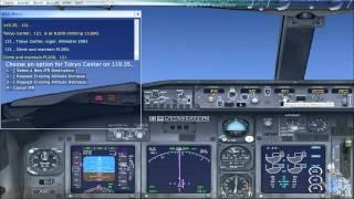 Česky Komentovaný Gameplay - Flight Simulator X - Let 1 (Tokio-Praha) - Část 1/2