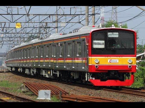 遂にデビュー!! 元武蔵野線 205系5000番台M15編成 ジャカルタにて運用開始!! 頑張れ5000番台