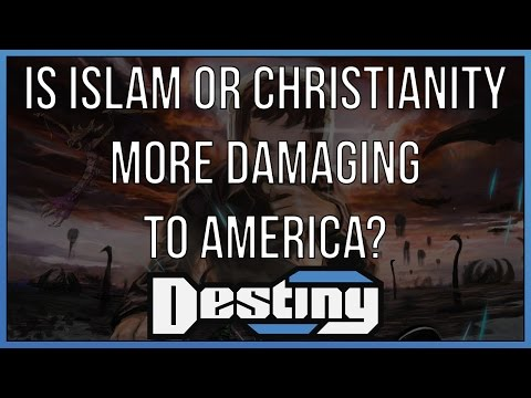 A discussion on what's more damaging to America: Christianity or Islam?