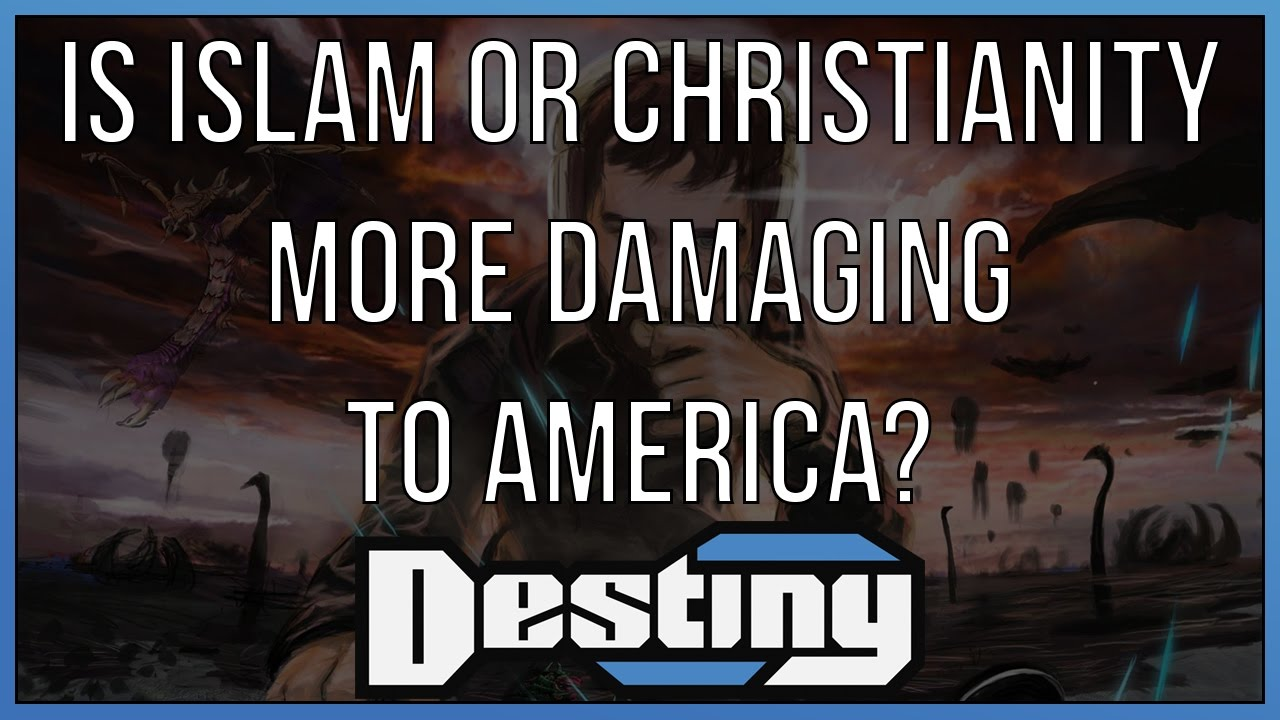 islam or christianity a reaction to eatons islam and the destiny of man essay What are some christian worldview essentials man, purpose, life, right and what are the elements of a christian worldview christianity teaches a set of.