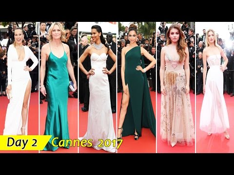 Cannes Film Festival 2017 | Day 2 | Red Carpet Fashion | Celebrity Dresses