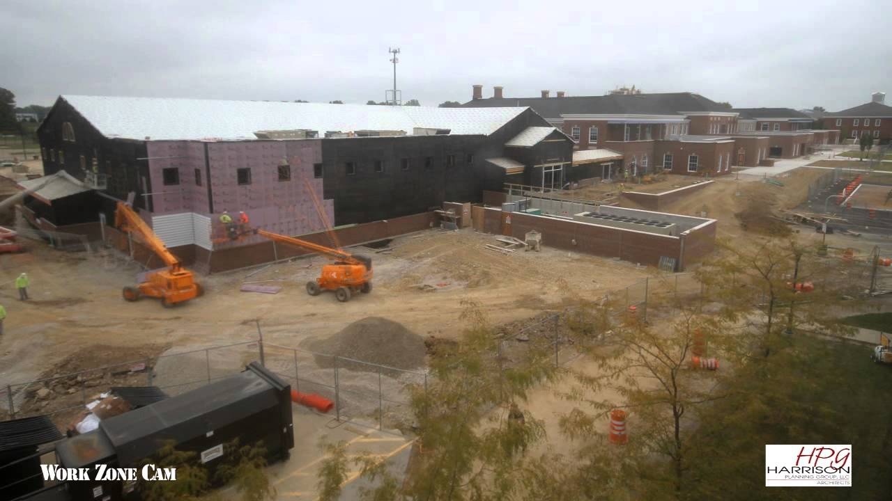 New Albany Plain Local Schools Construction Time Lapse Youtube