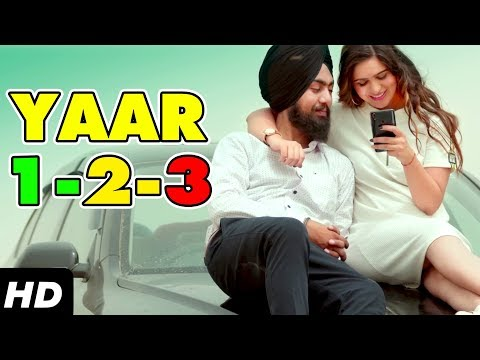 Latest Punjabi Song  Yaar 123     Yaar 123 ft Akash Bhagat  V Star