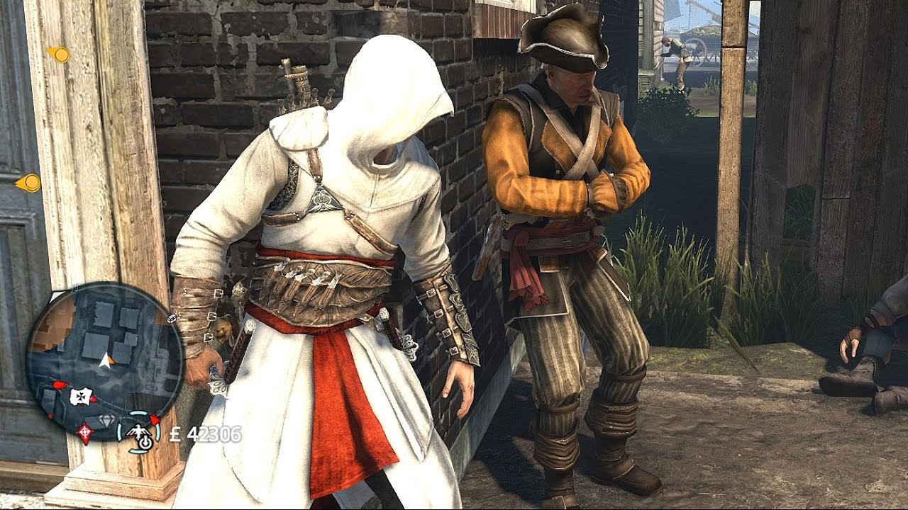 Assassin S Creed Rogue Altair S Outfit Fun With Infinite Ammo