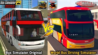 Bus Simulator Original vs World Bus Driving Simulator | Best Bus Games Comparison screenshot 5