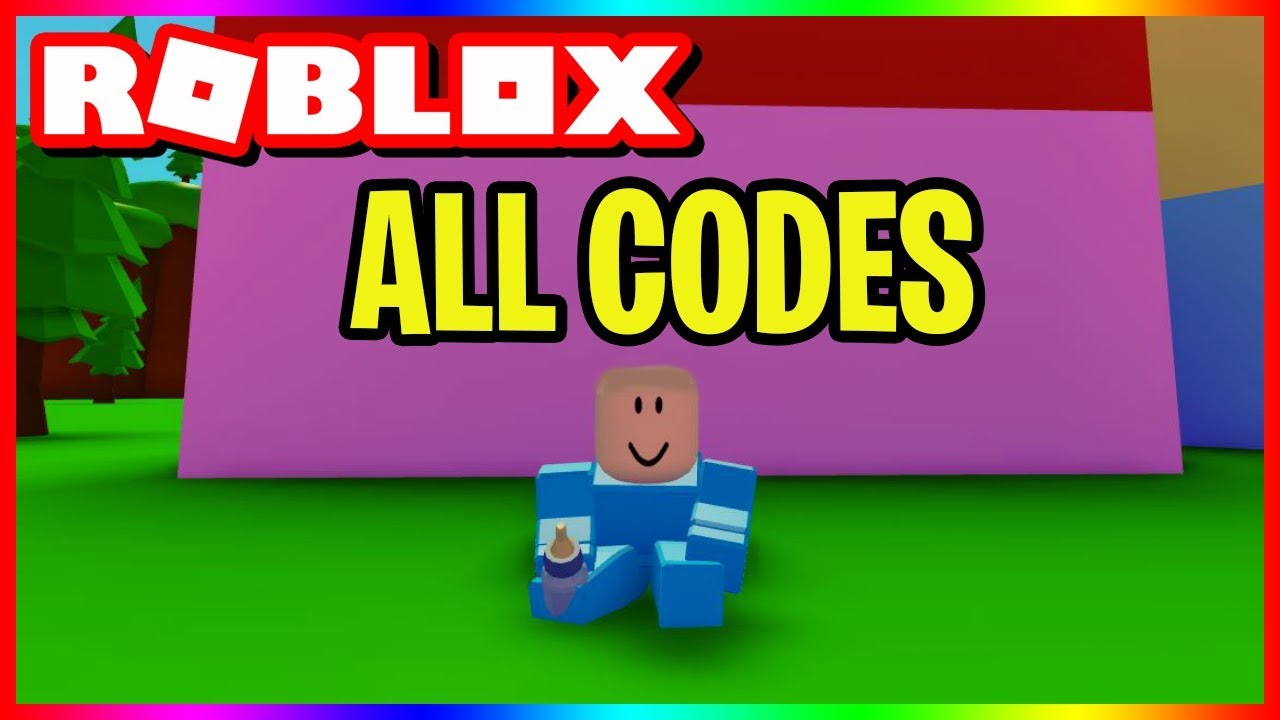 All Codes In Baby Simulator Roblox Youtube