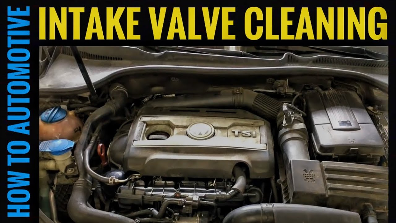 how to clean engibe valve