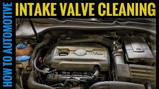 How to Clean the Intake Valves on a Volkswagen/Audi TSI FSI 2.0T Direct Injection Engine