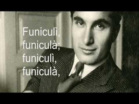 Funiculì, Funiculà in Italian - Lyrics - Joseph Schmidt
