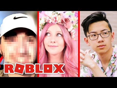 The Best Roblox Youtuber Face Reveals Of All Time Youtube