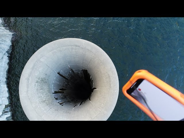 Dropping iPhone X Into Glory Hole - What Will Happen?