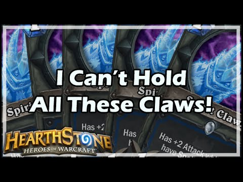 [Hearthstone] I Can't Hold All These Claws!